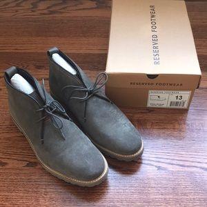 🆕 Men's Chukka Boots - Reserved Footwear